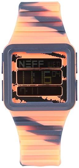 Neff - Odyssey Reloj para hombre azul marino/infrarrojos talla única: Amazon.es: Relojes