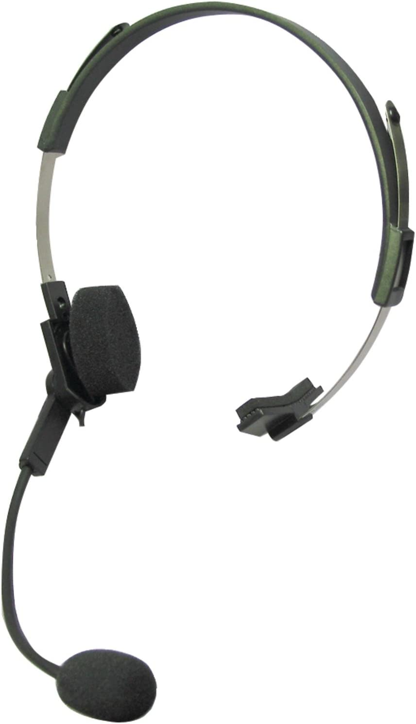 Motorola 53725 Single-Pin Talkabout Headset with Swivel Boom Microphone, Voice Activated Transmission (VOX) Capable, Compatible with TALKABOUT Radios