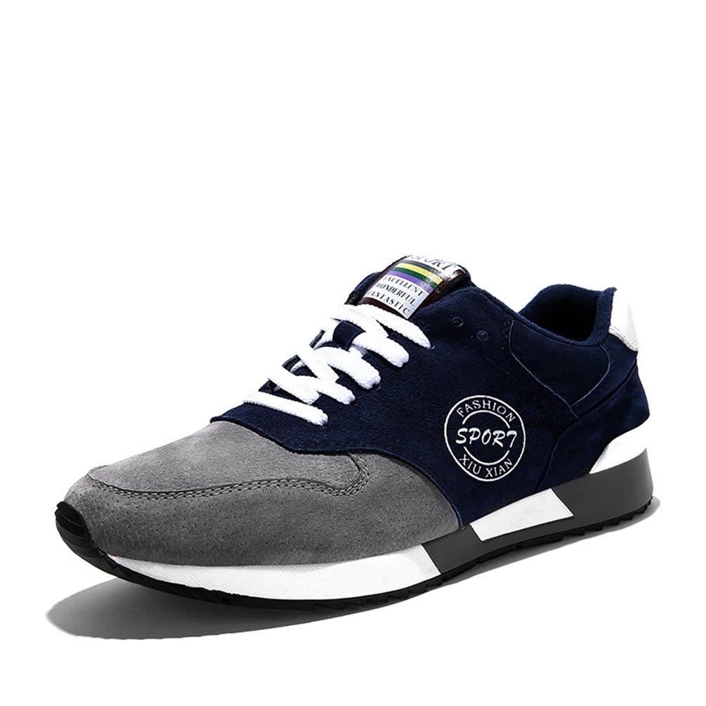 LFEU - botas de caño bajo Hombre 39 EU|gris azulado