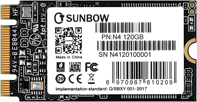 TCSUNBOW M.2 2242 120GB SSD NGFF 120GB 128GB Solid State Drive ...