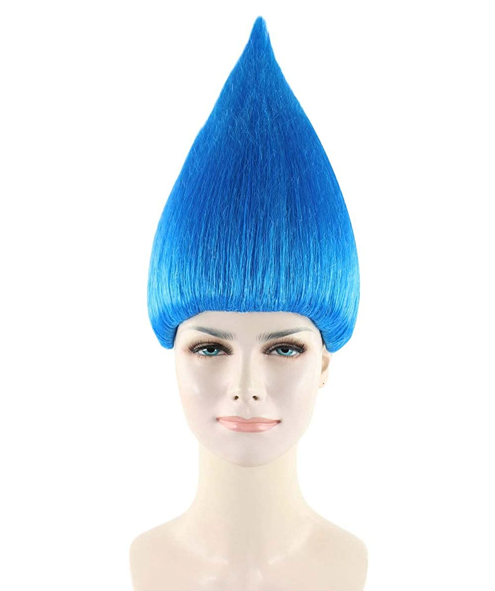 Troll Style Wig Elf Pixie Gnome Color BLUE HM-075/HW-1362
