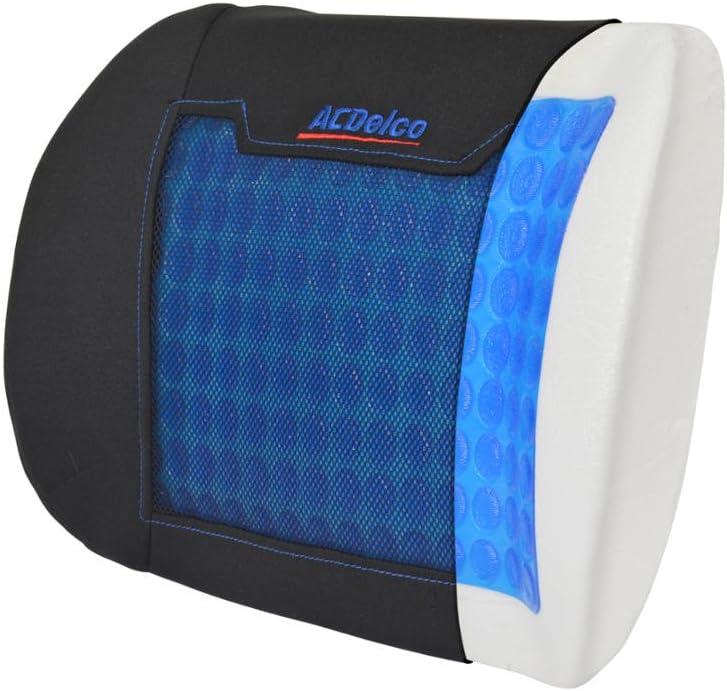 Orthopedic Therapy Cooling Gel Seat Cushions – Premium Memory Foam – Stress Relief for Pain Lumbar Pillow (Gel Lumbar Back)