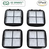EZ SPARES 4PCS Bissell cleanview Hand Vac HEPA Filter and Filter Screen Fits Bissell Hand Vac Auto-Mate, Pet Hair, CleanView Vacuums; Compare to Bissell Part Nos. 2037416, 2031432 97D5