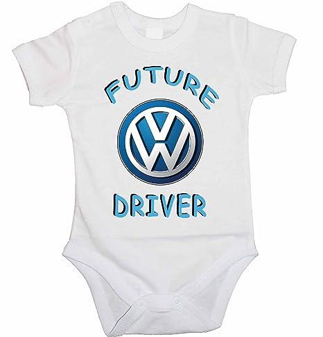 Body para bebés con el logotipo de VW, manga corta, color ...