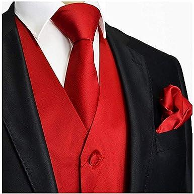 Brand Q Mens Paisley Dress Vest Bow Tie Set for Suit Tuxedo