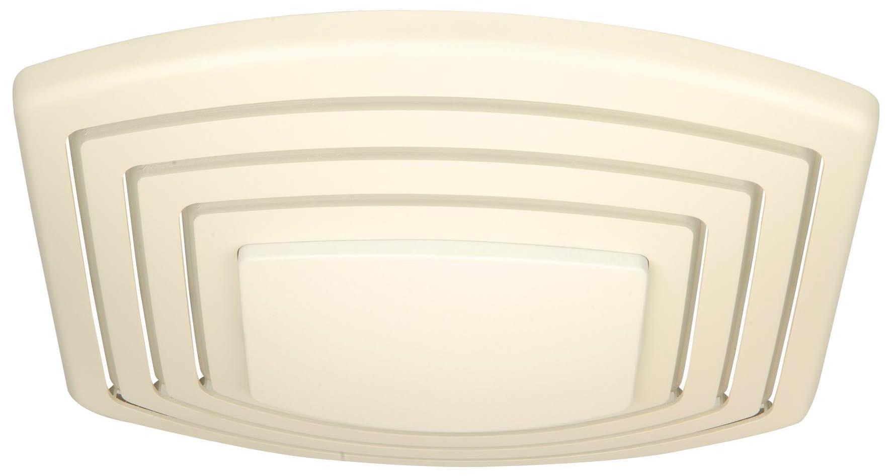 Craftmade TFV110SL 110 CFM Silent Fan Light, Designer White