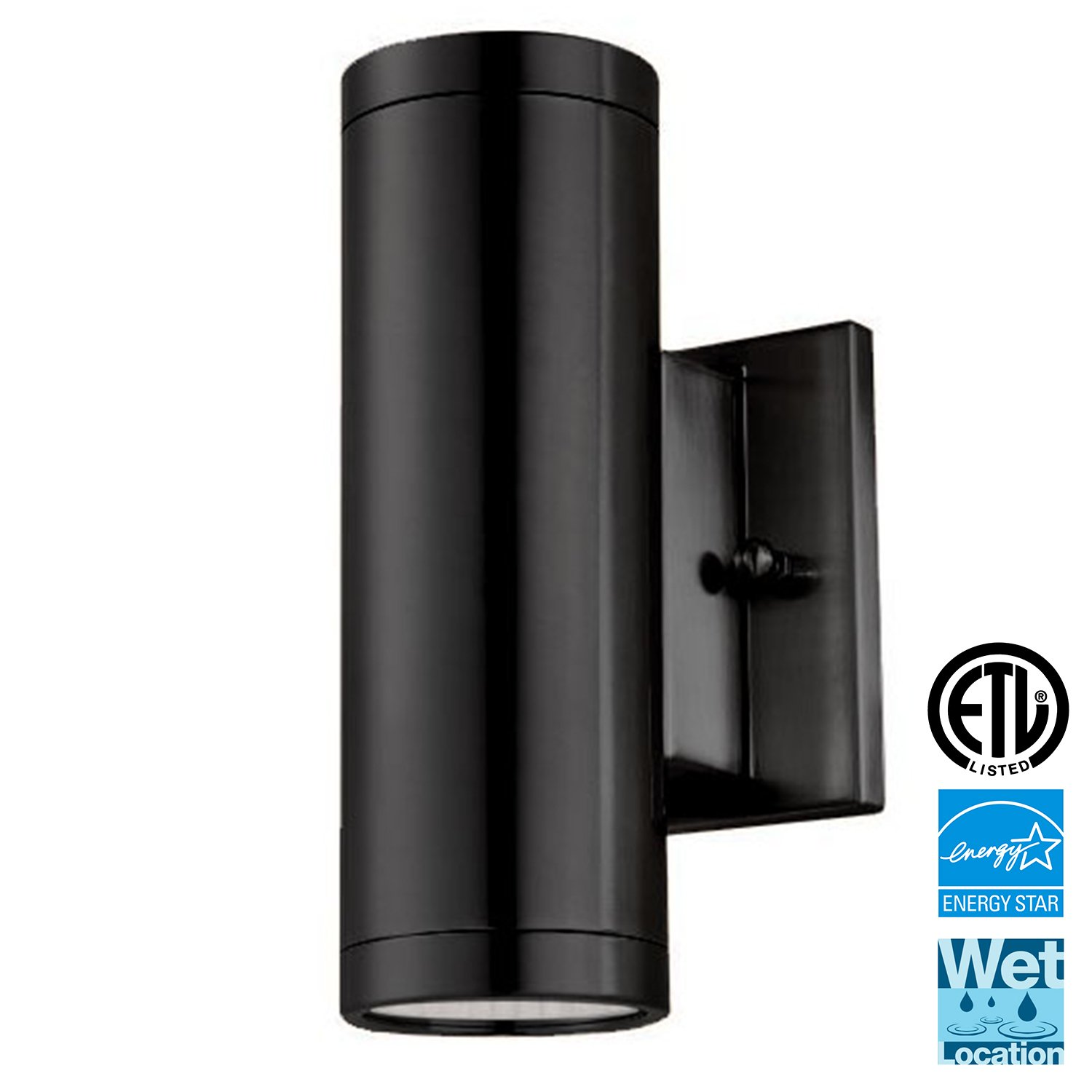 Outdoor Wall Lamp Up And Down Cylinder Light Fixture Ip65
