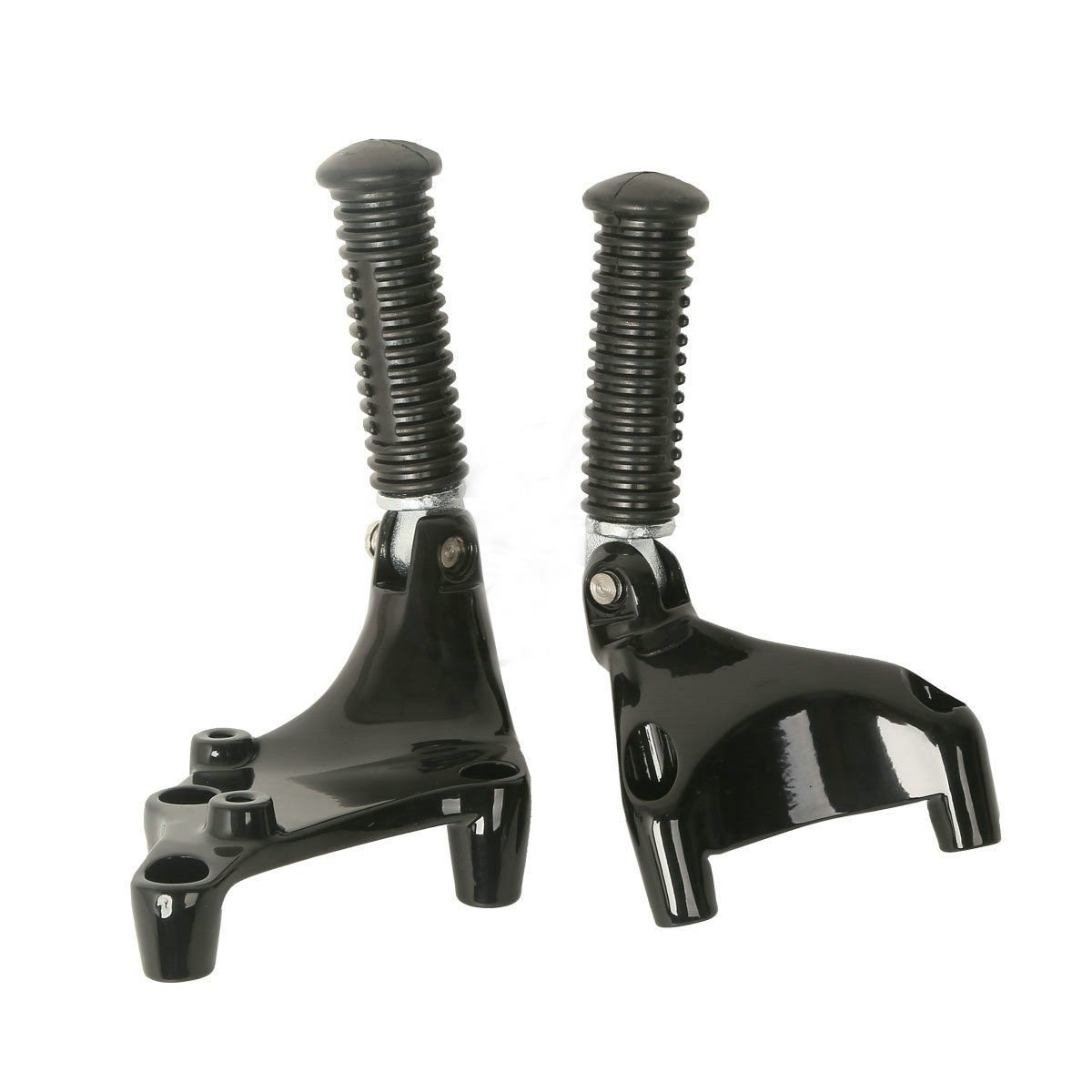 XFMT Rear Passenger Foot Peg Foot Rests Pedal /& Mount Compatible with Harley Sportster IRON XL 883 1200 48 72 2014-2019