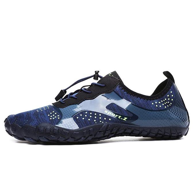 Zapato de Agua Zapatos de Playa Escarpines Zapatillas Buceo ...
