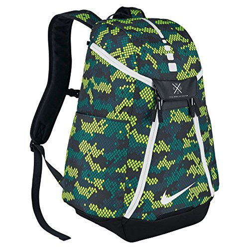 6b34b776b2 Nike Hoops Elite Max Air Team Backpack Bag in Rio Teal Black White BA5260