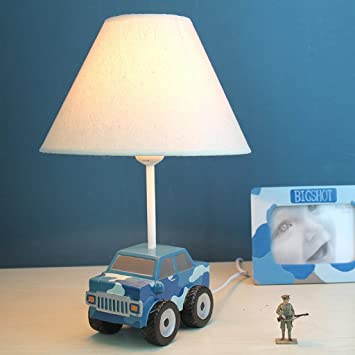 Table Lamp Aircraft And Cars Table Lamp Bedroom Bedside Lamp Warm Creative  Men And Childrenu0027s Room