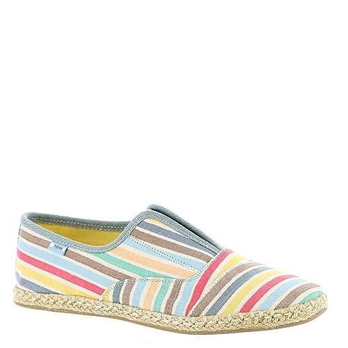 2de30a7f286 Toms Beach Stripe Women s Palmera Espadrilles Shoes - In Multicolor ...