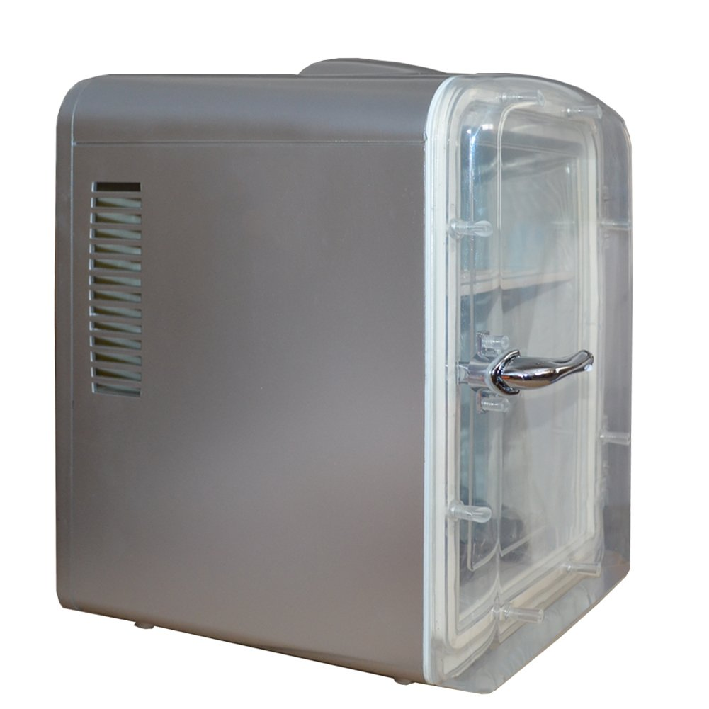 Generic DC12V ABS Mini Truck Car Compact Refrigerator AC110V Thermoelectric Cooler Warmer Fridge Travelling Camping Soda Camper by SMETA (Image #2)