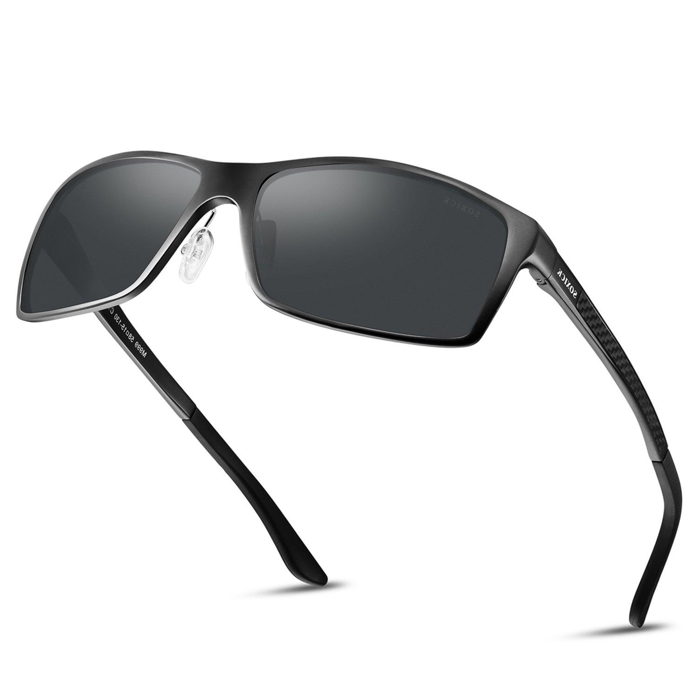 Polarized Mens Sunglasses For Driving Lightweight Wayfarer Best Sunglasses