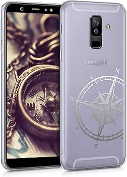 kwmobile Funda Compatible con Samsung Galaxy A6+/A6 Plus (2018 ...