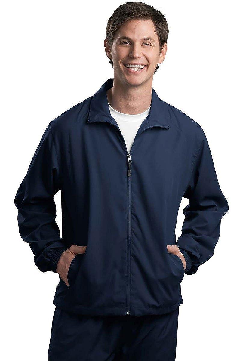 Sport-Tek Mens Full Zip Wind Jacket
