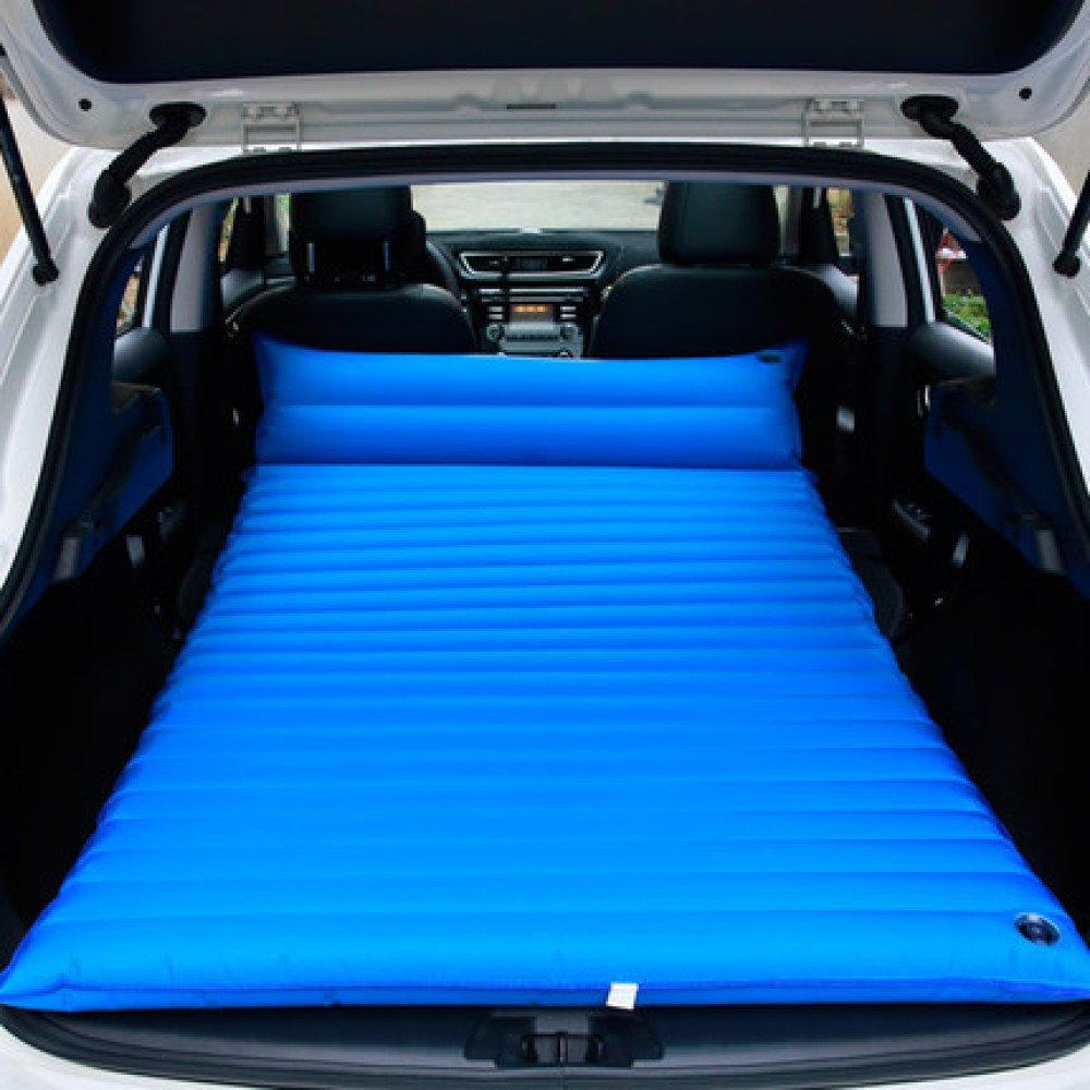 HAOXIAOZI Aufblasbares Bett SUV Auto-Bett Doppelbett Outdoor Reise-Matratze,Blau