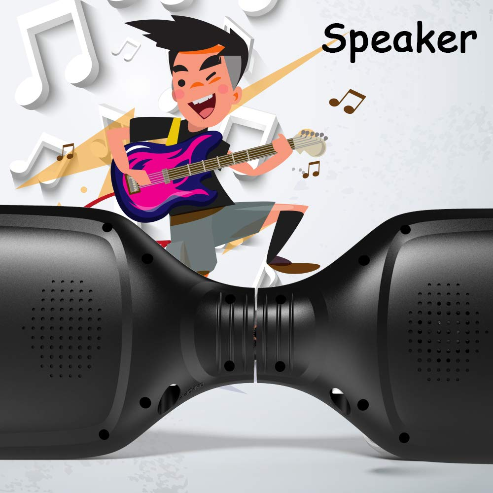 Hoverboard 6.5 Inch Swift with Flashed Wheel Smart Self Balanceing Scooter with Music Speaker App-Enabled Hoverboard UL2272 Certificated