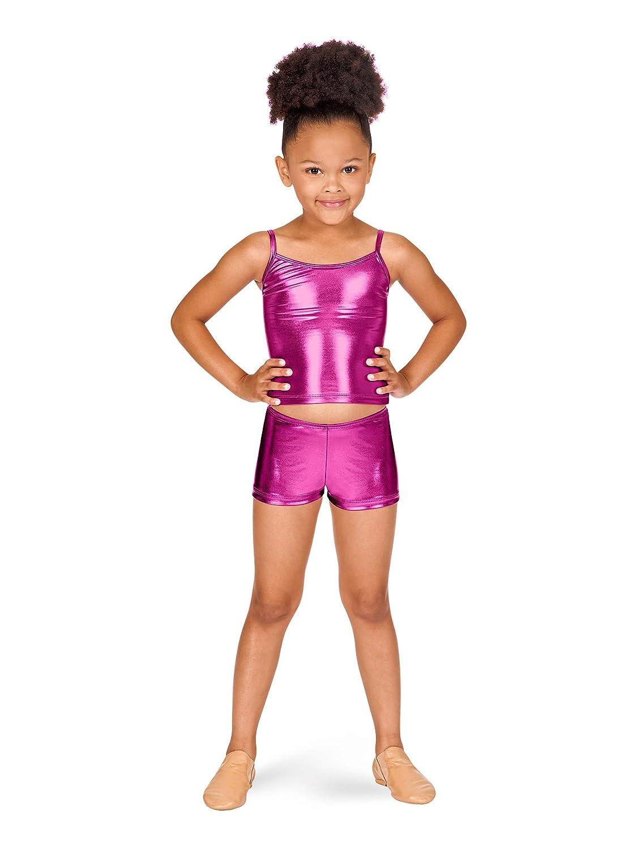 Child Metallic Dance Shorts N8392C