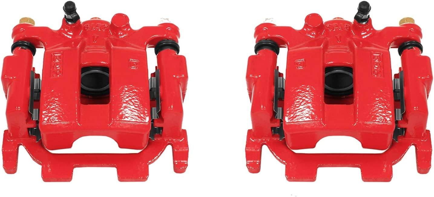 Power Stop Free Shipping New S6240 Power-Coated Caliper Red Pair Performance 2021 autumn and winter new