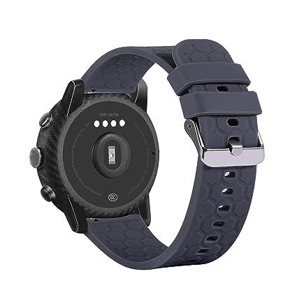 Amazon.com: RuenTech Compatible with Fossil Q Gen 5 Bands ...
