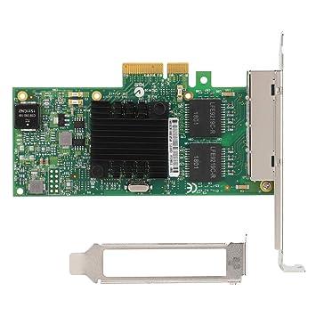 Wendry Tarjeta de Red PCIE, Intel I350-T4 Tarjeta de Red LAN ...
