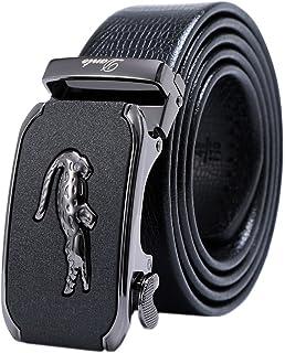 YUSHI Cinture da Uomo, Cinture, Accessori per Cintura, Molto Adatto per Abbigliamento Casual in Denim, Fibbia in Metallo Semplice e Resistente, Moda, Atmosfera, Affari
