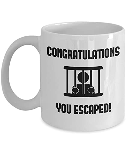 Congratulations leaving gifts mugs Coworkers Colleague Boss best coffee tea cup funny friend Retirement Goodbye Farewell