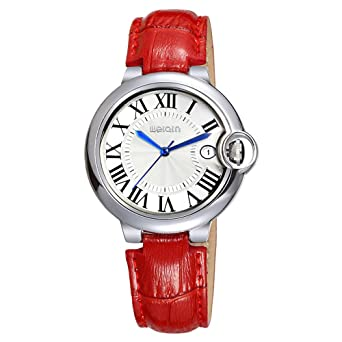 Fashion Leather Band Ladies Watches, Classic Simple Waterproof Bracelet Watches for Women Female relojes Mujer