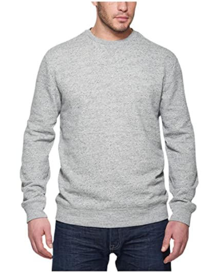 73306a68f Weatherproof® Vintage Men's Crew Neck Sweatshirt (Medium, Grey)