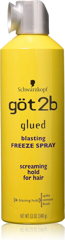 Got 2B Freeze de limpieza con pegamento spray aerosol 355 ml (Pack de 3): Amazon.es: Salud y cuidado personal
