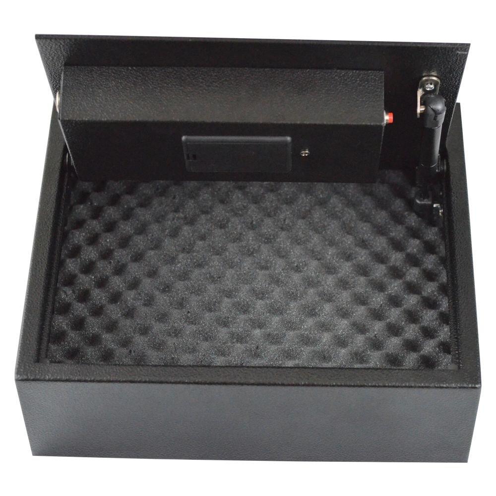 Boomstick Gun Accessories Biometric Fingerprint Drawer Personal Gun Safe, Black BOOM-10053
