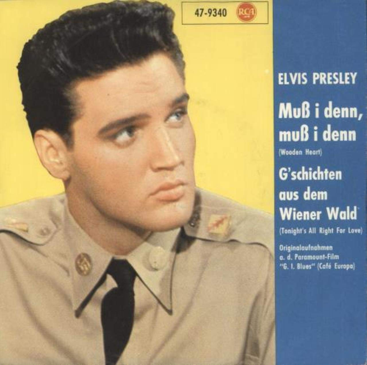 Elvis Presley - Muß I Denn, Muß I Denn / Gschichten Aus Dem ...