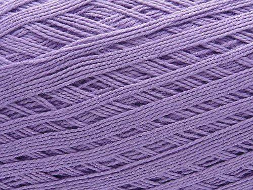 Ovillo grande de hilo de algodon color lila. Para crochet y tejer (150g 1.000m): Amazon.es: Hogar