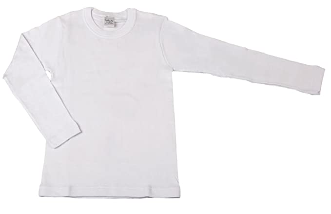 BabyVip - Camiseta Bebé Niña Manga Larga 100% Algodón Caliente Pack De 2 - 2