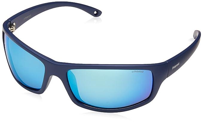15c5c174ef Polaroid PLD 7017/S 5X PJP Gafas de sol, Azul (Bluette Grey Speckled Blue  Pz), 63 para Hombre: Amazon.es: Ropa y accesorios