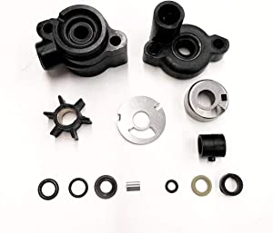 A.A Water Pump Impeller Kit for Mercury Mariner 4/4.5/7.5/9.8 HP 46-70941A3, 18-3446