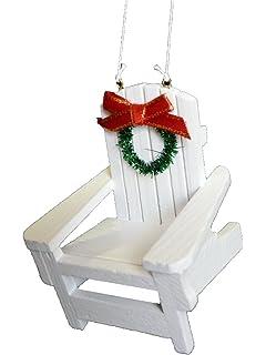 Adirondack Beach Chair Christmas Ornament