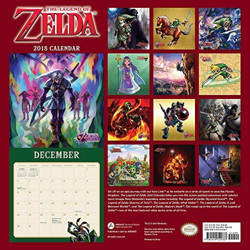 The Legend of Zelda™ 2018 Wall Calendar
