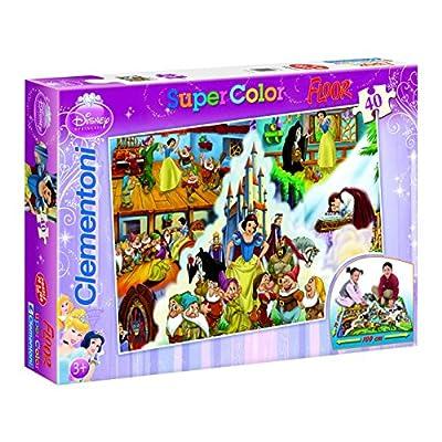 Clementoni 25428 Biancaneve Floor Puzzle 40 Pezzi