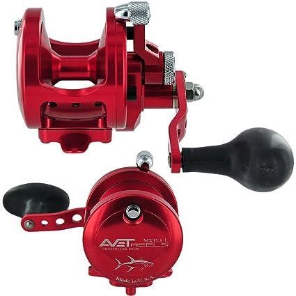 Avet MXJ5 8:1 Single Speed Reel - Blue - Right-Hand