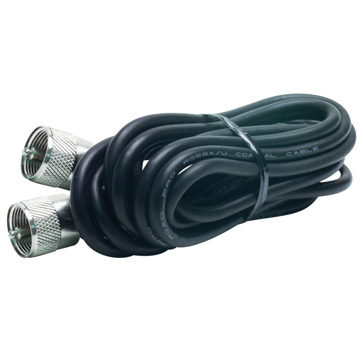 RoadPro RP-12CC 12-Feet CB Antenna Coax Cable with PL-259 Connector
