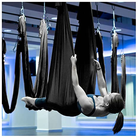 Amazon.com : Large Bearing Yoga Swing Sling Hammock Trapeze ...