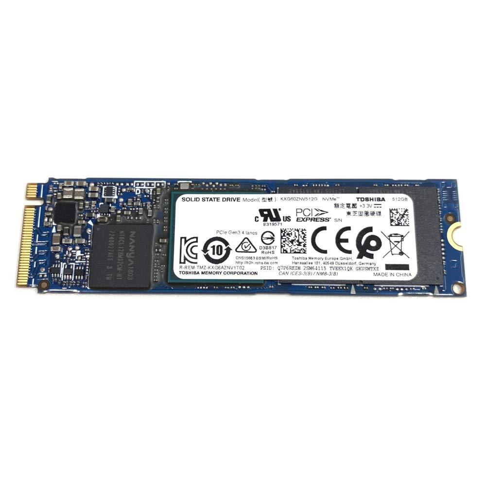 Toshiba 512GB SSD XG6 PCIe Gen3 NVMe M.2 2280 KXG60ZNV512G KP8C4 for Dell HP Lenovo Acer Asus PC Desktop Laptop