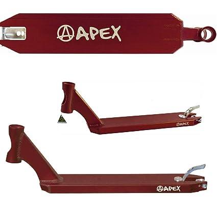 Apex Patinete de Scooters Pro Deck + Fan tic26 Pegatinas ...