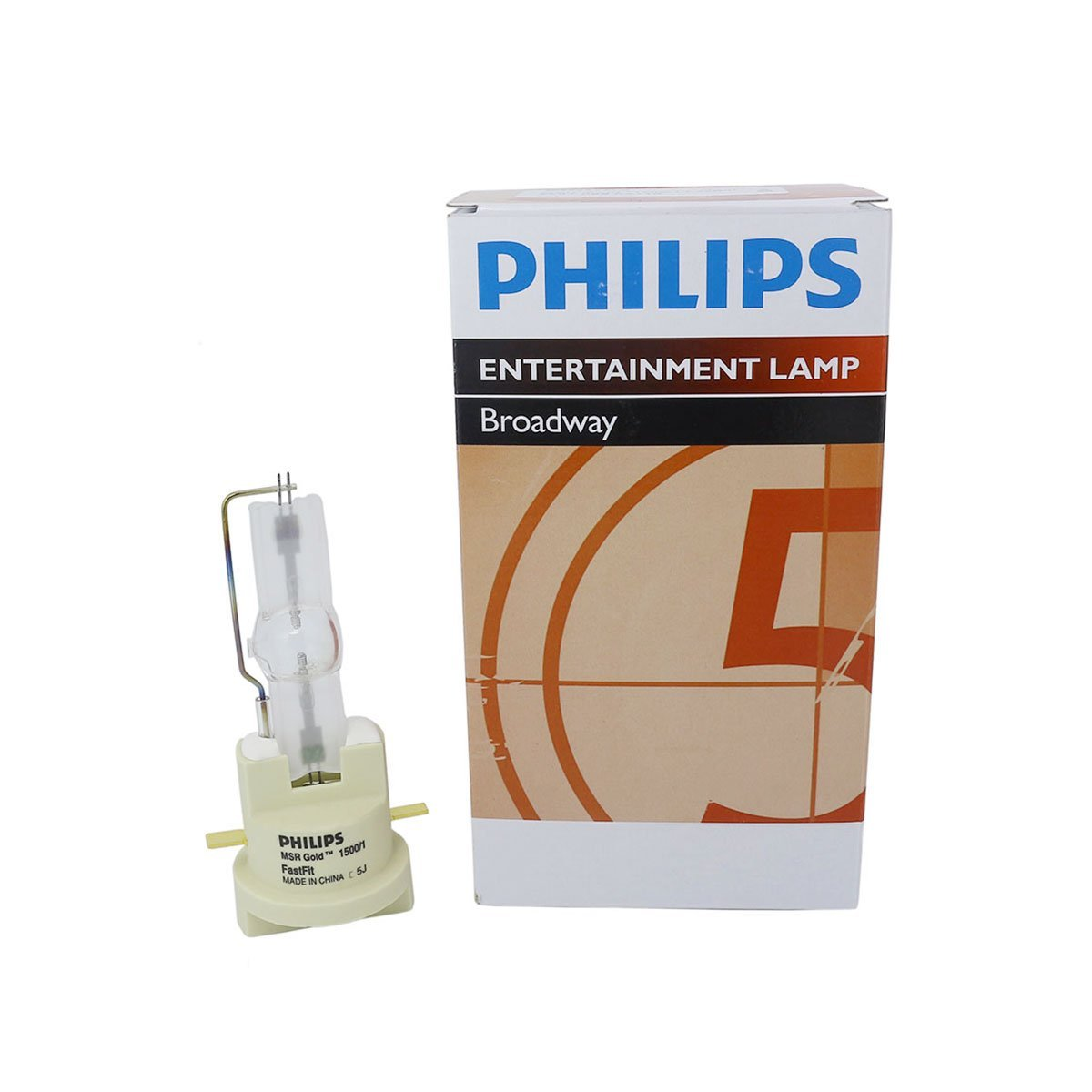 Philips MSR Gold 1500/1 FastFit 1500W AC Lamp for Touring/Stage Lighting