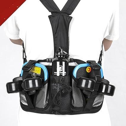 Outdoor Climbing Sports Backpack Large Capacity Waist Bag Bottle Umbrella Holder