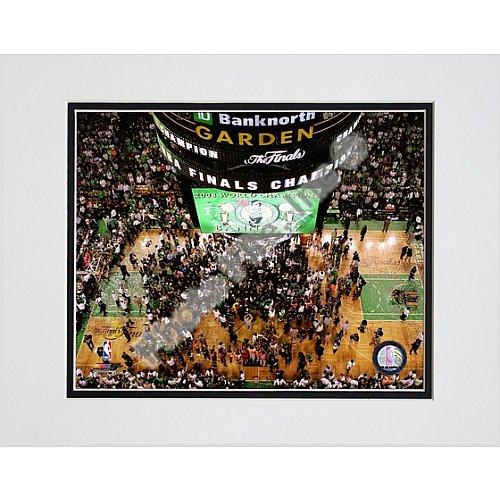 Photo File Boston Celtics TD Banknorth Garden 2008 Championship Celebration 8x10 Matted Photo