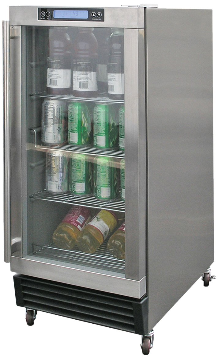 Refrigerator Outdoor Amazoncom Calflame Bbq10700 A Outdoor Stainless Steel Ice Maker