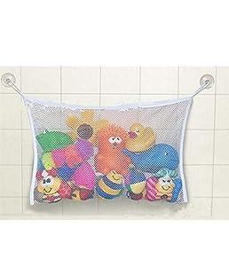 Lyanther Baby Bath Time Toy Stockage Sac d 'Aspiration Mesh Net Organisateur de Salle de Bain
